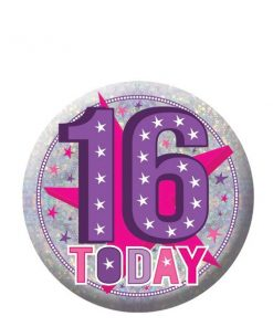 Happy 16th Birthday Badge