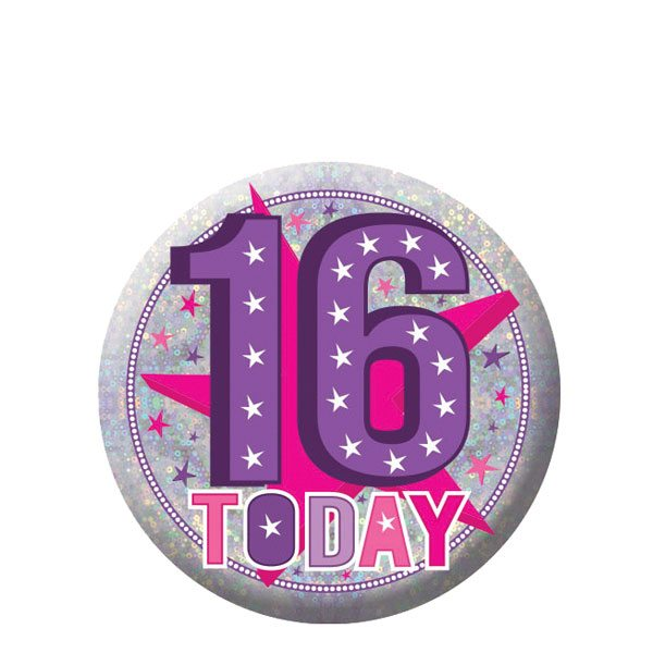 Buy Happy 16th Birthday Badge