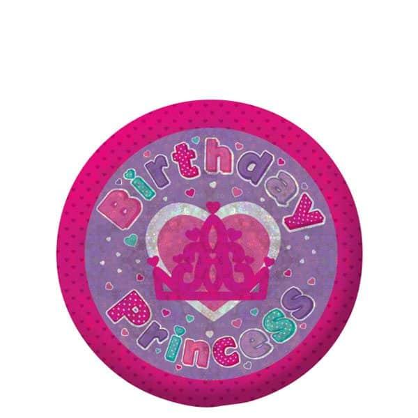Happy Birthday Princess Badge