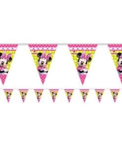 Minnie Mouse Party Plastic Bunting