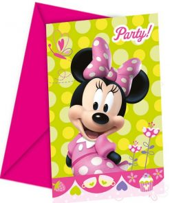 Minnie Mouse Party Party Invitation Cards