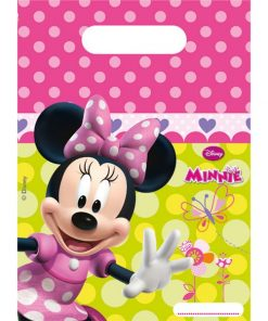 Minnie Mouse Party Plastic Loot Bags
