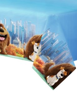 The Secret Life of Pets Party Plastic Tablecover