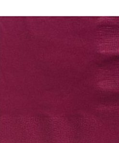 Claret Paper Party Lunch Napkins