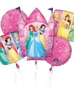 Disney Princess Balloon Foil Bouquet