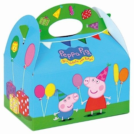 Peppa Pig Party Food Box