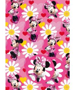 Minnie Mouse Party Wrapping Paper & Tags