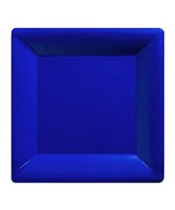 Royal Blue Party Paper Square Plates