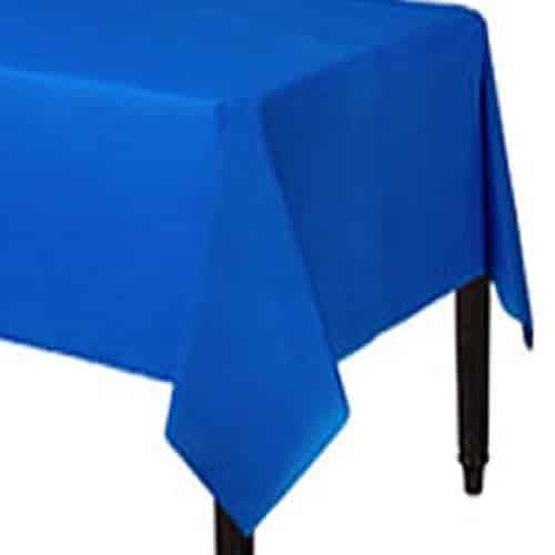 Royal Blue Party Plastic Tablecover