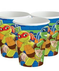 TMNT Half Shell Heroes Party Paper Cups
