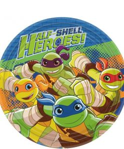 TMNT Half Shell Heroes Party Paper Dessert Plates