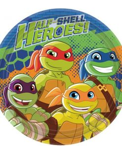 TMNT Half Shell Heroes Party Paper Plates