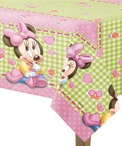 Baby Minnie Plastic Tablecover