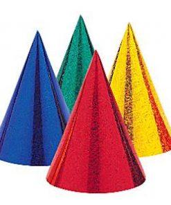 Prismatic Cone Party Hats