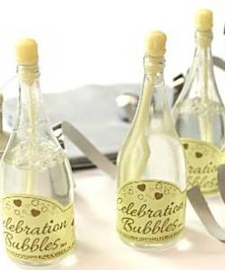 Champagne Ivory Wedding Bubbles
