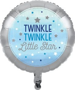 One Little Star Boy Party Foil Balloon
