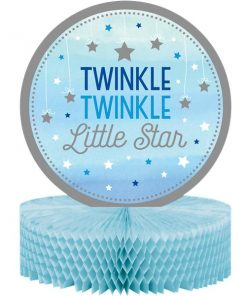 One Little Star Boy Party Table Centrepiece