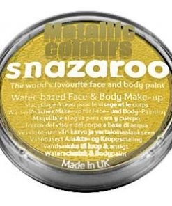 Snazaroo Electric Gold Face Paint