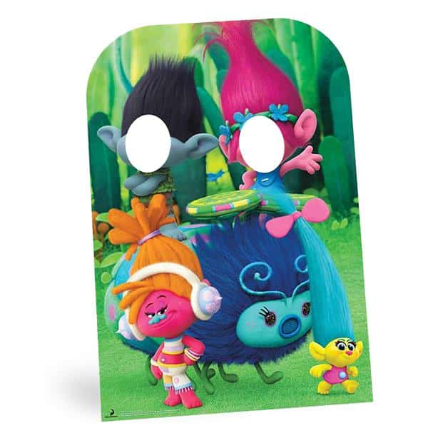 Trolls Party Stand In Photo Prop