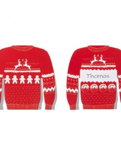 Cosy Christmas Jumper Party Place Cards