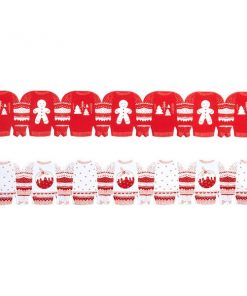 Cosy Christmas Jumper Party Paper Chains