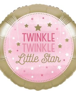 One Little Star Girl Party Foil Balloon