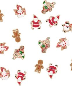 Santa and Friends Christmas Party Table Confetti