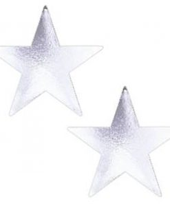 Silver Star Card Cutouts