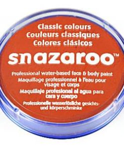 Snazaroo Dark Orange Face Paint
