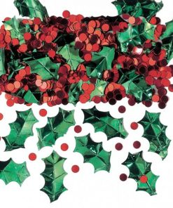 Christmas Holly Berry Table Confetti
