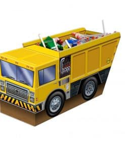 3-D Construction Truck Centerpiece