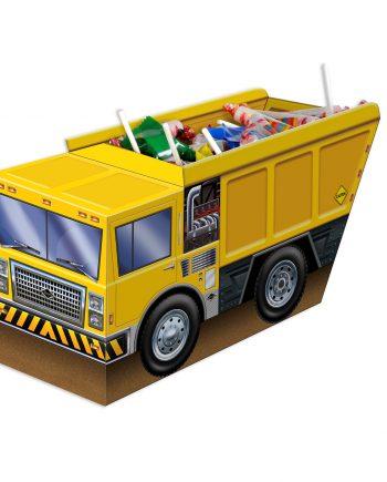 3-D Construction Truck Centerpiece