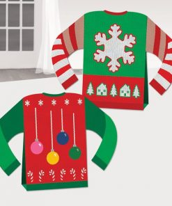 Christmas 3D Ugly Sweater Table Centrepiece