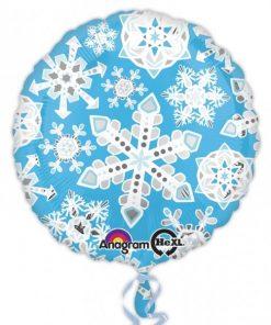 Christmas Snowflake Insider Foil Balloon