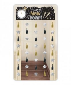 New Years Eve Party Door Curtain