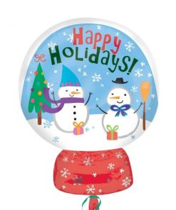 Christmas Snow Globe Balloon Foil