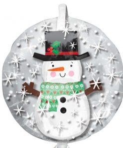 Christmas Snowman Insider Balloon