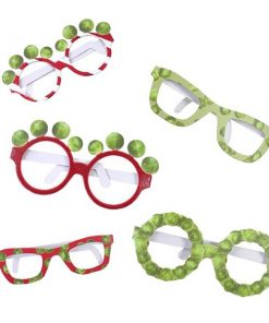 Christmas Sprout Glasses