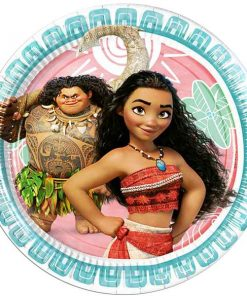 Disney Moana Party Paper Plates