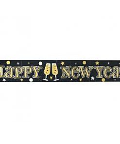 New Years Eve Party Foil Banner