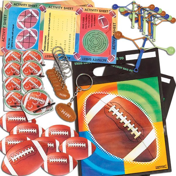 American Football Party Football Favour Pack