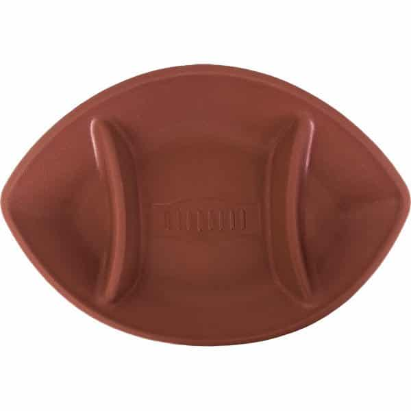 American Football Party Oval Chip & Dip Tray