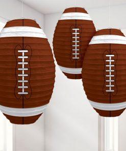 American Football Paper Lanterns