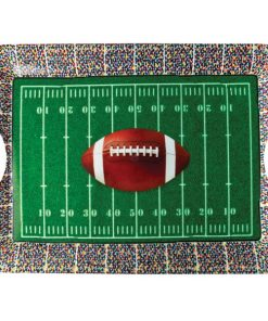 American Football Party Plastic Tray