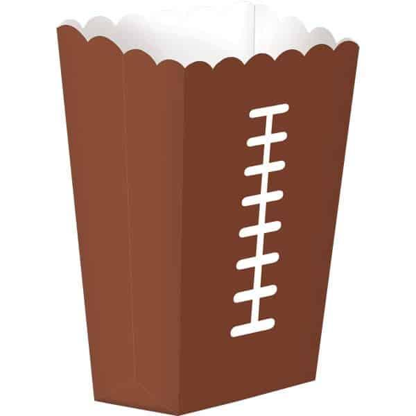 American Football Party Popcorn Box