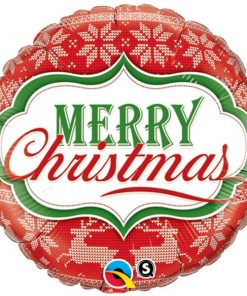 Christmas Merry Christmas Nordic Pattern