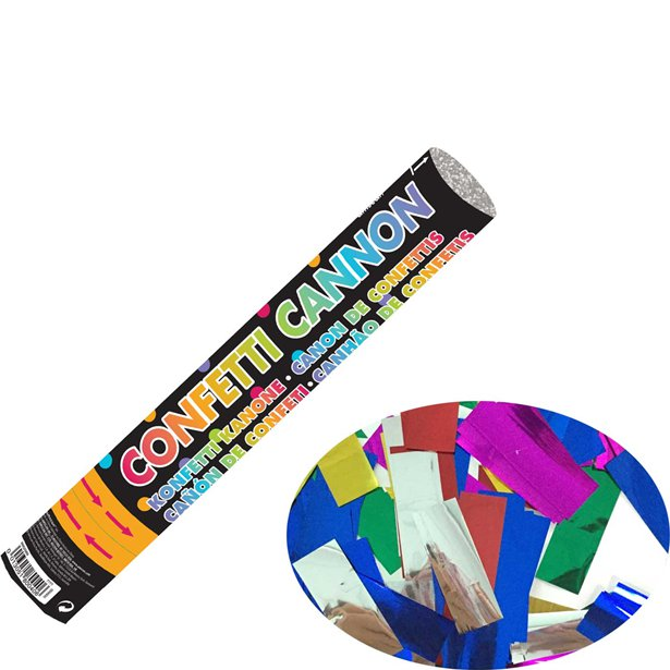 Buy New Years Eve Party Confetti Cannon - 30cm - Fun Party Supplies