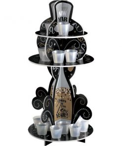 New Years Eve Party Shot Glass Holder