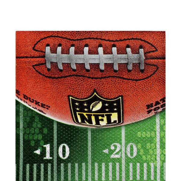 American Football Party NFL Drive Paper Beverage Napkins