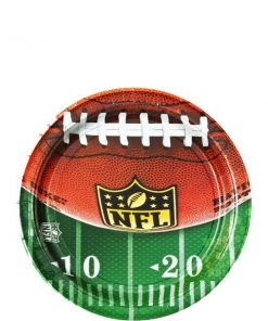 American Football Party NFL Drive Paper Plates